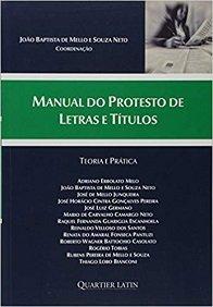 Imagem - Manual do Protesto de Letras e Títulos - Teoria e Prática