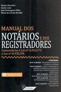 Imagem - Manual dos Notários e dos Registradores