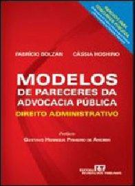 Imagem - MODELOS DE PARECERES DA ADVOCACIA PÚBLICA
