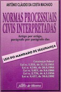 Imagem - Normas Processuais Civis Interpretadas