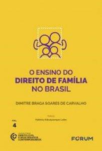 Imagem - O Ensino do Direito de Família no Brasil - volume IV