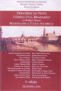 Imagem - Princípios Do Novo Código Civil Brasileiro e Outros Temas