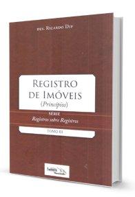 Imagem - Registro de Imóveis (Princípios) - Tomo III