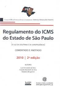 Imagem - Regulamento do Icms do Estado de são Paulo - 2010 Comentado e Anotado
