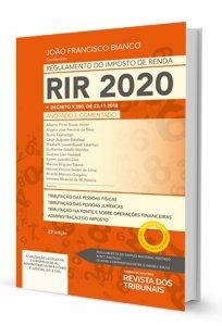 Imagem - Regulamento do Imposto de Renda 2020