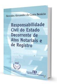 Imagem - Responsabilidade Civil do Estado Decorrente de Atos Notariais e de Registro - (Livro Usado)
