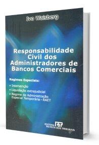 Imagem - Responsabilidade Civil dos Administradores de Bancos Comerciais - (Livro Usado)