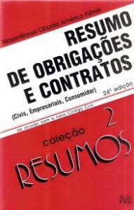 Imagem - Resumo de Obrigações e Contratos