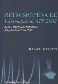 Imagem - Retrospectiva de Informativos do Stf 2008