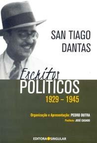 Imagem - San Tiago Dantas Escritos Políticos 1929 -1945