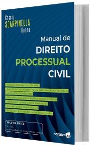 Imagem - Scarpinela Manual de Direito Processul CIVIL
