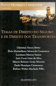 Imagem - Temas de Direito do Seguro e de Direito dos Transportes