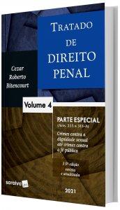 Imagem - Tratado de Direito Penal - Parte Especial - V. 4