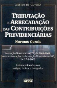 Imagem - Tributação e Arrecadação das Contribuições Previdenciárias