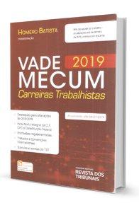 Imagem - Vade Mecum - 2019 Carreiras Trabalhistas