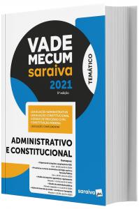 Imagem - Vade Mecum Saraiva - Administrativo e Constitucional