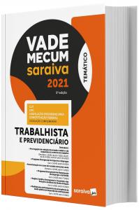 Imagem - Vade Mecum Saraiva - Trabalhista e Previdenciário