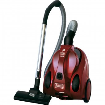 Imagem - Aspirador de Pó Ciclônico Vermelho Black Decker A4V-B2 220V