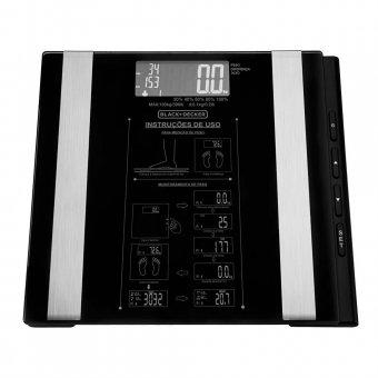 Imagem - Balança de Banheiro Black Decker até 180 Kg BK55-BR