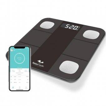 Imagem - Balança Digital RelaxMedic Bioimpedância Bluetooth