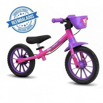 Imagem - Bicicleta Nathor Balance Bike Feminina Outlet