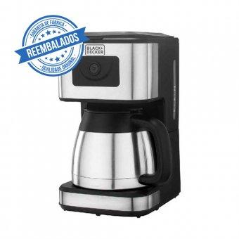 Imagem - Cafeteira Elétrica Black Decker Inox 23 Cafés CMX-B2 1000W 220V Outlet