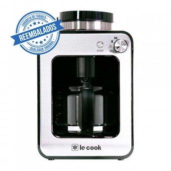 Imagem - Cafeteira Maquina de Café Le Cook Automática Compacta com Moedor de Grãos e Ervas de Chá 127V Outlet
