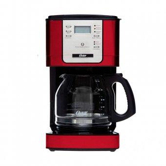 Imagem - Cafeteira Oster Flavor Programável Vermelha 4401R 900W 220V
