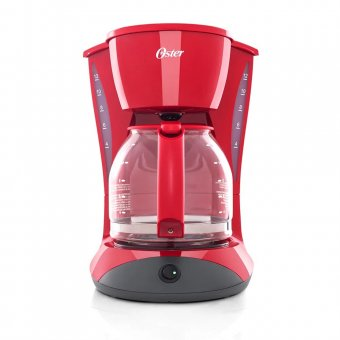 Imagem - Cafeteira Oster Red Cuisine 1,8L W12R 900W 127V