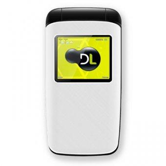 Imagem - Celular DL Dual Sim YC330 Flip Branco