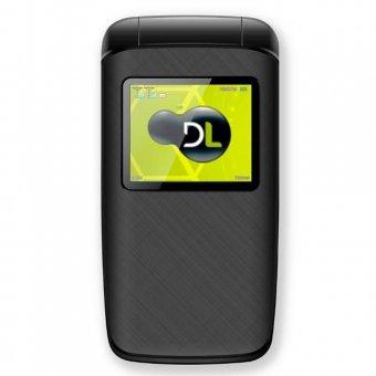 Imagem - Celular DL Dual Sim YC330 Flip Preto