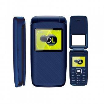 Imagem - Celular DL Dual Sim YC335 Flip Azul