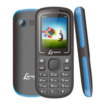 Imagem - Celular Dual Chip Lenoxx CX904 Preto e Azul Bluetooth