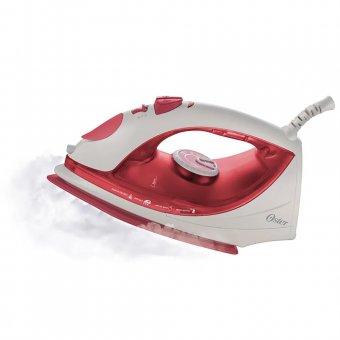 Imagem - Ferro a Vapor Oster Antiaderente Vermelho 5917 1600W 220V