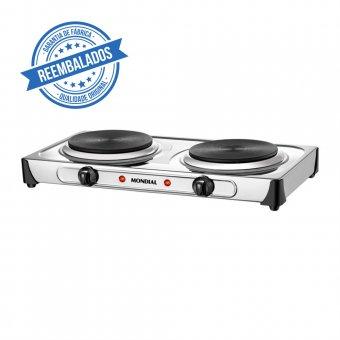 Imagem - Fogão Elétrico Mondial Fast Cook Due FE-03 2000W 127V Outlet