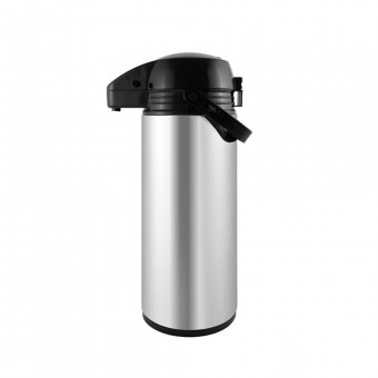 Imagem - Garrafa Térmica TermoPro Inox Basic Airpot Glass 1,9L
