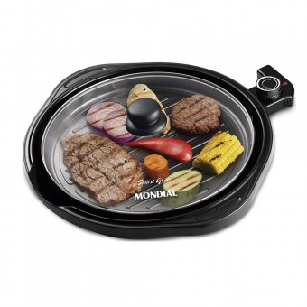 Imagem - Grill Mondial Redondo Smart G-04 1200W 110V