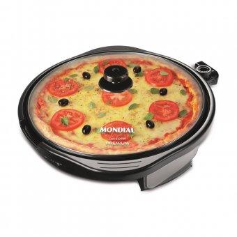 Imagem - Grill Redondo Mondial G-03 Cook e Grill 40 cm 1200W