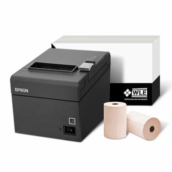 Imagem - Kit Impressora Epson TM-T20 USB + Bobina 80X40