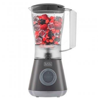 Imagem - Liquidificador Cinza c/ Filtro Black Decker 10 Vel.  L10F-BR 550W 127V