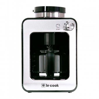 Imagem - Cafeteira Maquina de Café Le Cook Automática Compacta com Moedor de Grãos e Ervas de Chá 220V
