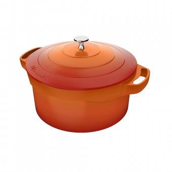 Imagem - Panela Caçarola Le Cook 20 cm com Pegadores de Silicone LC1802