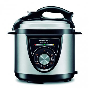Imagem - Panela de Pressão Elétrica Pratic Cook 5L Premium Mondial PE-34 900W 220V