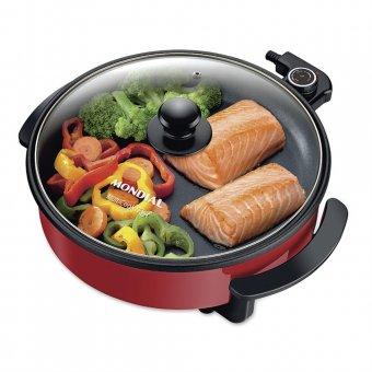 Imagem - Panela Elétrica Mondial Redonda Multicook Premium PE-28 Vermelha 1500W 220V