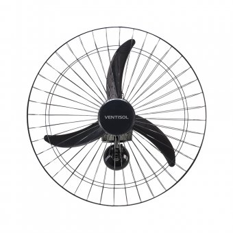 Imagem - Ventilador de Parede Ventisol Preto 60 cm Comercial 200W Bivolt