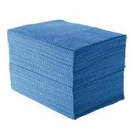 Imagem - Pano Multi-Uso Tipo Perfex Azul com 120 unidades