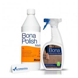Imagem - KIT BONA POLISH MATT + BONA CLEANER SPRAY 650ML