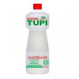 Imagem - Alcool 70° INPM - Limpeza Hospitalar e Doméstica 1L