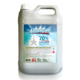 Imagem - Álcool em Gel 70% 5L