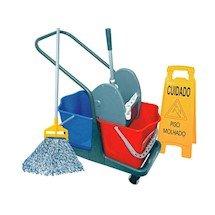 Imagem - Balde com Espremedor Kit 2 Completo para Limpeza Umida